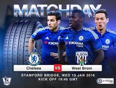 Yokohama Chelsea FC partnership.  IT'S MATCHDAY! What are your predictions for tonight's match between Chelsea FC and West Brom at Stanford Bridge?