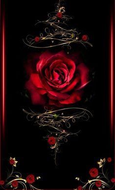 Beautiful tattoo idea of this Rose design Flower Phone Wallpaper, Heart Wallpaper, Butterfly Wallpaper, Cute Wallpaper Backgrounds, Cellphone Wallpaper, Nature Wallpaper, Beautiful Flowers Wallpapers, Beautiful Rose Flowers, Pretty Wallpapers