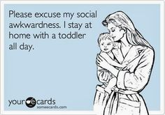 Totally how I feel.. i have develped ppl anxiety since ive been a mom.. was never a problem before.