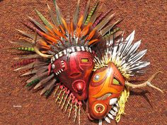 Gourd Mask by Hal Sager