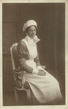 https://flic.kr/p/G2c4AL | Unidentified St John Ambulance Brigade VAD Nurse