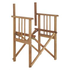 AFRICA Oak Directors Chair Frame ChairDining Room