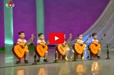 North Korea children playing the guitar - Breathtaking Performance! - Amazing Video - Must Watch