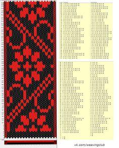 38 cards, 3 colors, repeats every 100 rows, GTT Card Weaving, Weaving Art, Loom Weaving, Basket Weaving, Inkle Weaving Patterns, Weaving Textiles, Loom Patterns, Finger Weaving, Inkle Loom