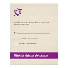 Brushed Star of David Bat Mitzvah Response Card Announcement you will get best price offer lowest prices or diccount couponeReview          Brushed Star of David Bat Mitzvah Response Card Announcement Review from Associated Store with this Deal...