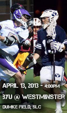 BYU v. Westminster MCLA Lacrosse