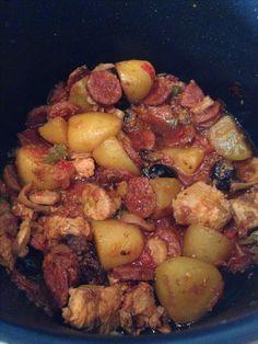 Filet mignon de porc à l'Andalouse
