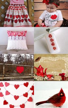 Valentines Day! by Mary Nedry on Etsy--Pinned with TreasuryPin.com