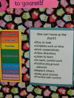 original pinner says: Ways you can move up the clip chart! Great to display in a 7 habits and Leader In Me classroom that uses the clip chart. School Classroom, Classroom Activities, Classroom Organization, Classroom Decor, Classroom Behavior Management, Behaviour Management, Behavior Plans, Behavior Clip Charts, Behaviour Chart