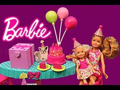 Barbie Chelsea Birthday Party Playset with Stacie Pink Barbie Doll Toys Review by DisneyCarToys  Barbie Chelsea Birthday Party Playset with Stacie Pink Barbie Doll Toys Review by DisneyCarToys in collaboration with ToysReviewToys. Barbie Birthday Surprise Playset Featuring Barbie, Chelsea…   http://girlbarbie.com/barbie-chelsea-birthday-party-playset-with-stacie-pink-barbie-doll-toys-review-by-disneycartoys-2/