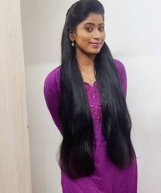 Long Hair Indian Girls, Blonde Hair Black Girls, Indian Long Hair Braid, Long Black Hair, Braids For Long Hair, Long Hair Cuts, Long Hair Styles, Hair Girls, Long Hair Princess