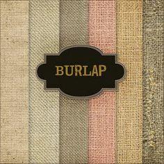 Burlap backgrounds