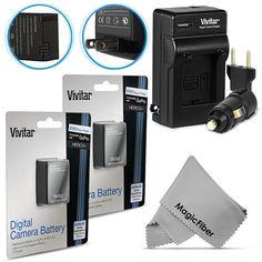 Battery for #GoPro HD Hero3+ Hero3 / 2 Pcs AHDBT-302 301 + AC/DC Charger #Vivitar #MagicFiber #CyberMondayDEALS #CyberMondayDeal #CyberMonday #SALE #DEAL #DEALS #PHOTOGRAPHY #GIFT