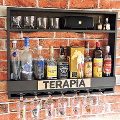 Basement Bar Designs, Home Bar Designs, Basement Ideas, Bar Sala, Barra Bar, Hot Tub Garden, Home Bar Decor, Wood Wine Racks, Bar Interior