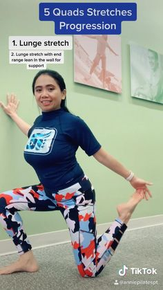 Tight Quads and Back Pain? Try this gentle Quads Stretching to release stiffness of thigh and back