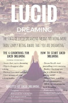 The Science Of Lucid Dreaming – The Key To Unlocking The Brain's Biggest Mysteries - Sleeping and dreaming are big parts of our lives. How big? We spend about six years of our lives dreaming. What Is Lucid Dreaming, Lucid Dreaming Dangers, Dream Psychology, Psychology Facts, Dream Spell, Facts About Dreams, Dream Symbols, Psychic Development, Spiritual Development