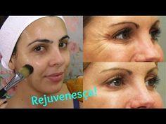Máscara Caseira Potente para Clarear e Rejuvenescer a Pele Diy Beauty, Youtube, Makeup, Face, How To Make, Diva, Make Up Green, Beauty Secrets, Healthy Skin