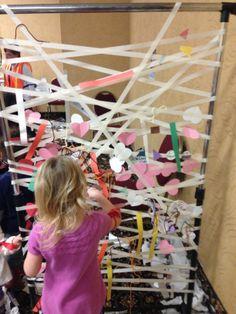 Masking tape fun...