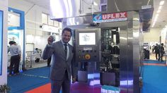 Uflex Unveils its Revolutionary Aseptic Filling Machine - ASEPTO Smart 78 at PackEx India 2017