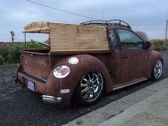 VW New Beetle rat-rod truck   Autophile   Pinterest   Rat rods, Trucks and  Rat rod trucks