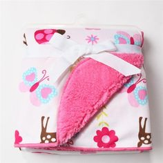 Hotsale Baby Coral Fleece Kids Cartoon Blanket Soft Bedding Swaddle Blankets JJ #Unbranded