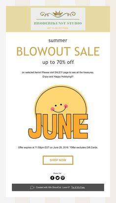 summer  BLOWOUT SALE  up to 70% off