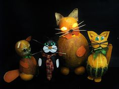 Pomysły plastyczne dla każdego, DiY - Joanna Wajdenfeld: Jak zrobić koty z dyni