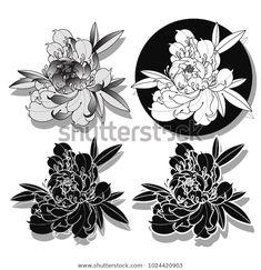 Peony Flower Tattoos, Flower Tattoo Drawings, Flower Tattoo Foot, Peonies Tattoo, Flower Tattoo Designs, Butterfly Tattoos, Watercolor Tattoos, Japanese Peony Tattoo, Japanese Sleeve Tattoos