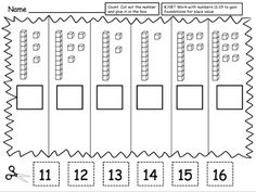 Teacher Laura: Place Value Freebie : Created this place value set of worksheets for her kindergarten classroom. I hope you can find a use fo. Place Value Worksheets, Math Place Value, Place Values, Math Worksheets, Math Activities, Base Ten Activities, Place Value Activities, Math Classroom, Kindergarten Math