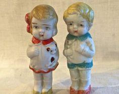 Antique Bisque Dolls 2 Frozen Charlotte by VintagePrairieHome