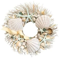 Shoreline Wreath - BedBathandBeyond.com