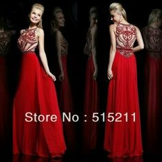 Red dresse