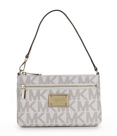 Signature Jet Set Large Wristlet by MICHAEL Michael Kors - Found on HeartThis.com @HeartThis | See item http://www.heartthis.com/product/457588974894430307?cid=pinterest