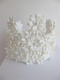 Crown of Paper by vintagediana on  Wedding!