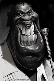 Artist Ernesto Priego: Louis Armstrong