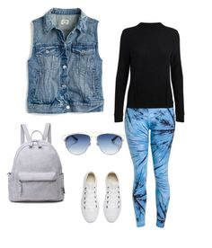 """Bbrazil Ocean Leggings"" by bbrazilbbold on Polyvore featuring J.Crew, Converse and Christian Dior"