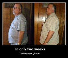 Sight diet!