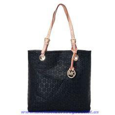 Michael Kors Black Grayson Shopping Bag