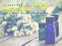 13 uses for essential oils. (Also, stick a cotton ball in your vacuum cleaner's compartment that collects all the gunk, with like ten drops of your fave smelling oil! It makes your house smell amazing without the fuss of laying down baking soda etc!)