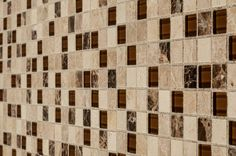 BuildDirect – Mosaic Tile - Glass Stone Blends – Ibiza Blend - Angle View
