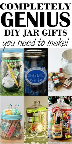 Diy christmas gifts for family creative in a jar ideas