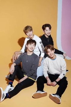 Wanna One - Park Woojin, Lai Guanlin, Yoon Jisung, Bae Jinyoung Kpop, Bae, All Meme, Guan Lin, Wattpad, Lai Guanlin, Produce 101 Season 2, Thing 1, Ong Seongwoo
