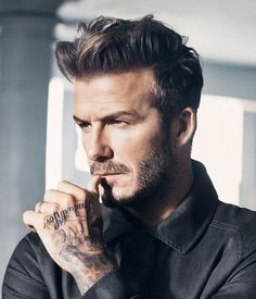 Do you know the reason why people love David Beckham? We have figured it out! Its because of his hairstyle!
