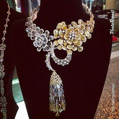 "By @Bruno Palena Palena Lima Design ""Award winning necklace by @Lisa Phillips-Barton' Dezen Jewellery"