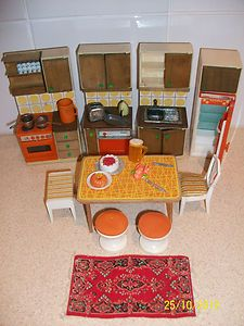 Vintage Lundby Dolls House Kitchen | eBay