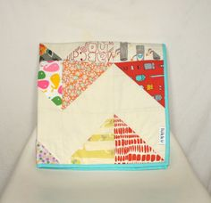 Handmade baby quilt by Lukku on Etsy, $159.00