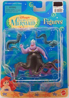 Disney Little Mermaid Ursula Flotsam Jetsam Eels Figures NIP mermaid Mermaid Disney, Disney Little Mermaids, The Little Mermaid, Flotsam And Jetsam, Disney Merchandise, Ursula, Disney Stuff, New Toys, Old And New
