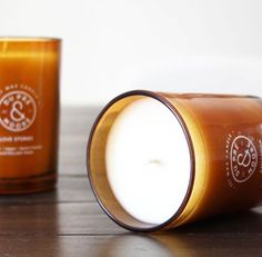 Aromatherapeutic candles, composed of meticulously formulated essential oil blends which have been crafted in-house and hand poured in beautiful and reusable Amber glassware.
