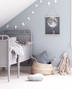 "Scandinavian Colour + Design on Instagram: ""// TREND WATCH: GREY is the new Pastel :) How STUNNING is this toddler's room by talented @emsloo? We are so inspired! Team DS. X #designstuff #scandistyle #kidsroom #kidsroomdecor #kidsroominspo #greyisthenewpastel"""