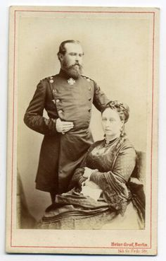 Princess Alice with her husband, Louis of Hesse.